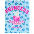 """Princess Diva """"Girls Rule"""" 3 Ring Binder with Accessory Pouch"""