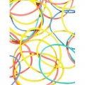 Multicolored Rubber Bands - 75G Package
