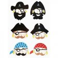 Pirate Mask - Halloween Costume Masks-12 pack