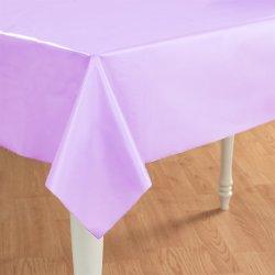 Liliac Plastic Tablecover