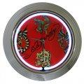 Ed Hardy Dragons Tattoo Neon Wall Clock