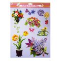 Spring Wall Clings - Floral 2pk