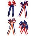 Patriotic Bow Set of 4