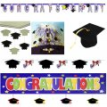 Graduation Party Decoration Set - 6 Pc