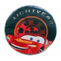 "Disney Pixar Cars Lightning McQueen ""LightYear"" Tire Shaped Decorative Pillow"