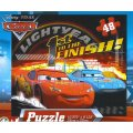 Disney Pixar Cars 48pc Jigsaw Puzzle - (First to the Finish)