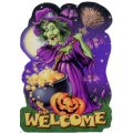 "Halloween Party Invitations w/ Envelopes - ""Witches Welcome"" - 8 Pack"