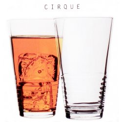 Circleware CIRQUE 6pc. Highball 12 oz Glass Set