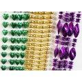 Metallic Bead Necklace Assortment (144 pcs)