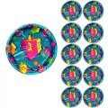 Dreidel Party Paper Plates - 80 Cnt