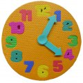 Foam Clock Puzzle - Baby's Learning and Development Toy