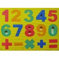 Foam Numbers and Math Puzzle - Baby's Learning and Development Toy