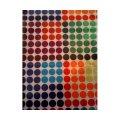JUMBO Fabric Stretchable Book Cover (Polka Dots)