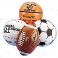 """16"""" Sport Themed Inflatable Beach Balls - 12cnt. (1 Dozen)"""