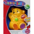 Musical Baby Toy Play and Learn Educational Toy (My First Bear)
