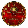 Chateau Bordeaux Wall Clock - Vintage Winery Wall Decor