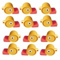 Duck Shaped Whistles - 12 Pack